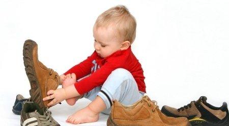 какая обувь нужна ребенку